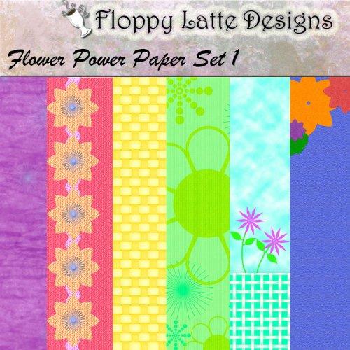 Flower Power Paper Pak 1