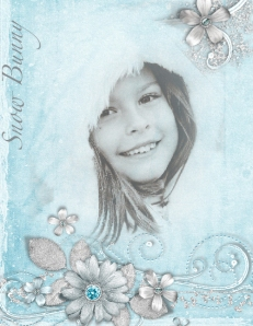 Snow Bunny Layout by Sara Arell